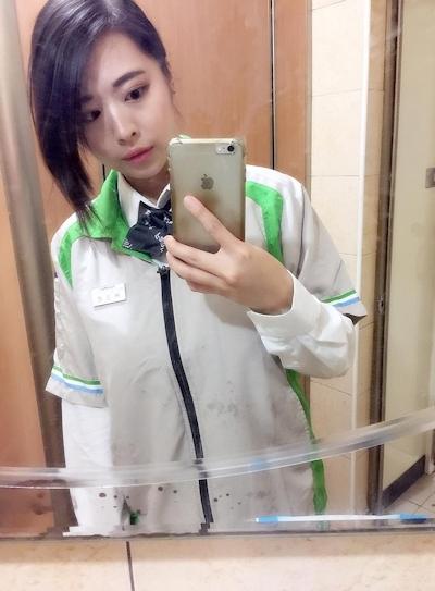台湾のファミリーマートの爆乳店員 2