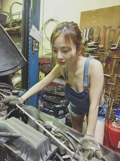 台湾美女モデル 小桃子(颜凤萱) セクシーグラビア画像 5