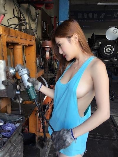 台湾美女モデル 小桃子(颜凤萱) セクシーグラビア画像 15