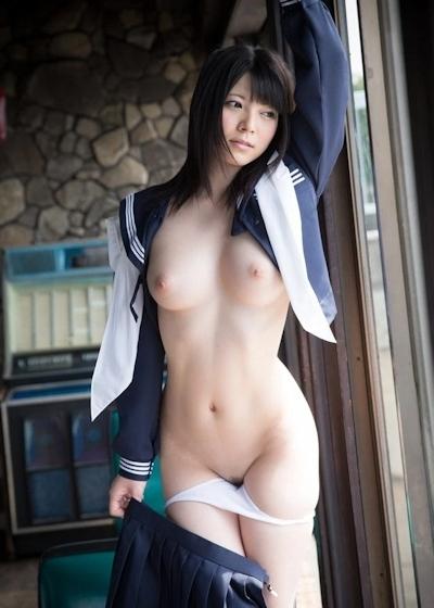 美少女JKヌード画像 18