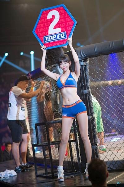 韓国の美人ラウンドガール画像 13
