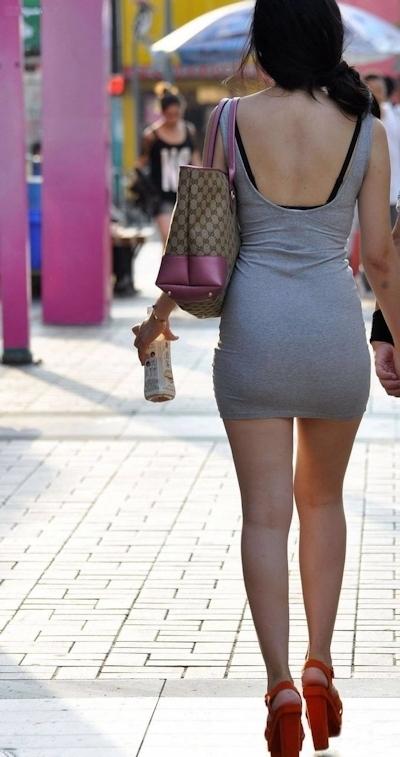 街中で撮影したセクシー画像 2