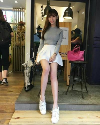 台湾の美少女警官? 4
