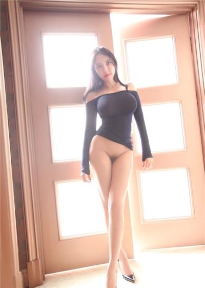 中国巨乳美女モデル 松果儿(Song GuoEr) セクシーヌード画像 1
