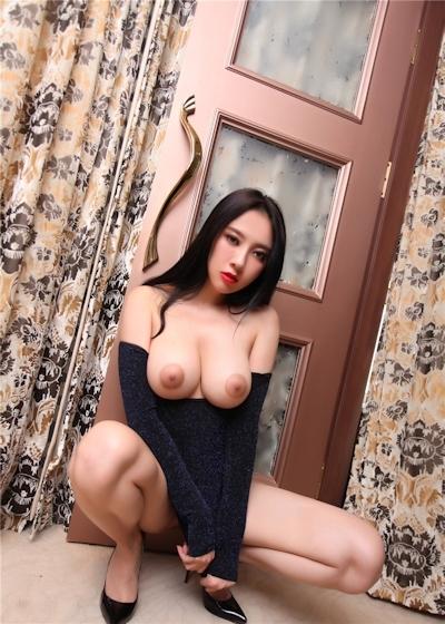 中国巨乳美女モデル 松果儿(Song GuoEr) セクシーヌード画像 3