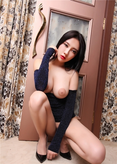 中国巨乳美女モデル 松果儿(Song GuoEr) セクシーヌード画像 4