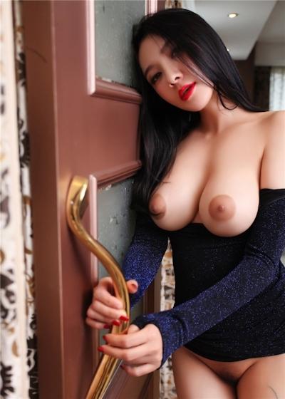 中国巨乳美女モデル 松果儿(Song GuoEr) セクシーヌード画像 5