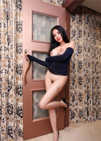 中国巨乳美女モデル 松果儿(Song GuoEr) セクシーヌード画像 9