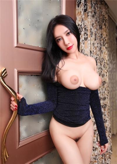 中国巨乳美女モデル 松果儿(Song GuoEr) セクシーヌード画像 11