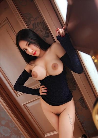 中国巨乳美女モデル 松果儿(Song GuoEr) セクシーヌード画像 18