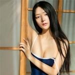 中国美女モデル 小琪(Xiaoqi) セクシースク水画像