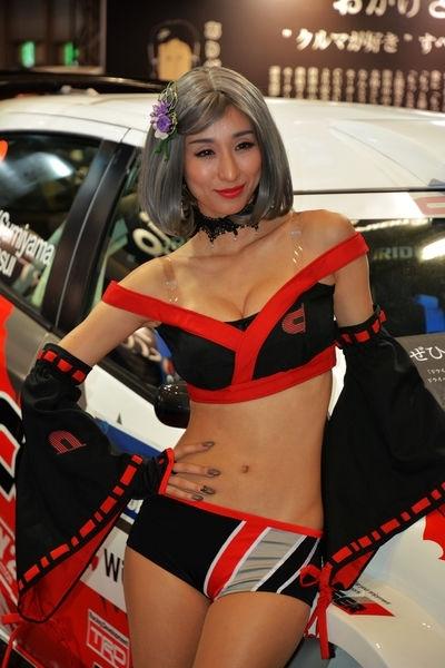 東京オートサロン2017 セクシーコンパニオン画像 11