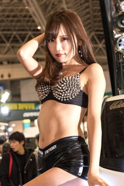 東京オートサロン2017 セクシーコンパニオン画像 25
