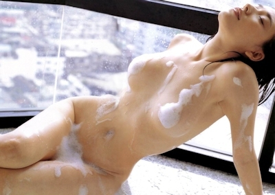 泡泡ヌード画像 27