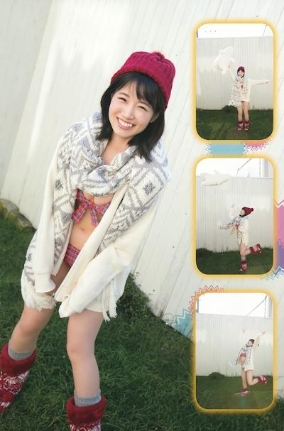 HKT48 朝長美桜 セクシーグラビア画像 2