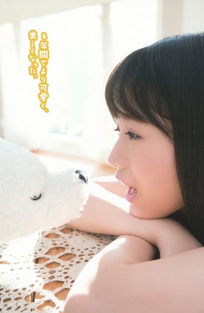 HKT48 朝長美桜 セクシーグラビア画像 5