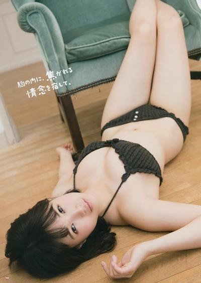HKT48 朝長美桜 セクシーグラビア画像 15