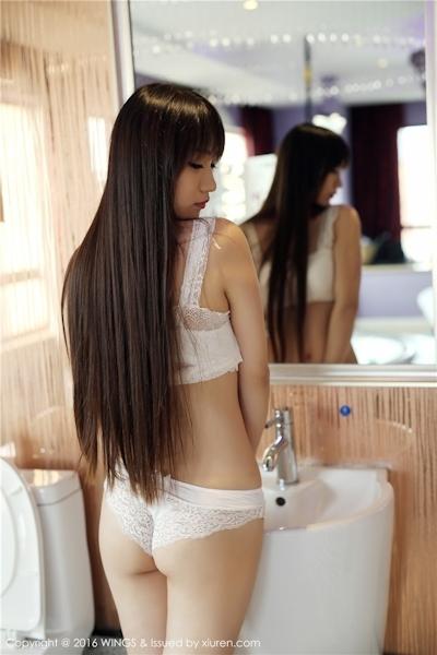 中国美女モデル 啊狸(Ali) セクシーランジェリー画像 3