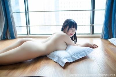 中国美少女モデル 赤間菀枫(ChijianYufeng) セクシーランジェリー&セミヌード画像 26