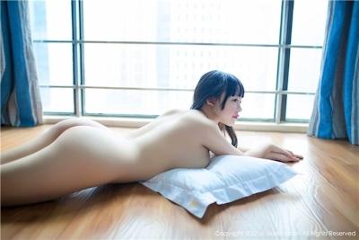 中国美少女モデル 赤間菀枫(ChijianYufeng) セクシーランジェリー&セミヌード画像 27