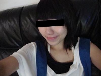 巨乳な台湾の素人美女の自分撮りヌード画像 1