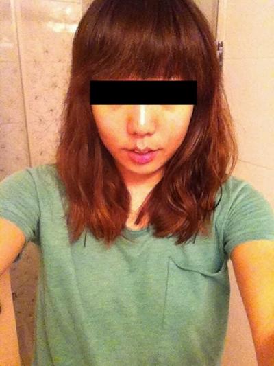 巨乳な台湾の素人美女の自分撮りヌード画像 2