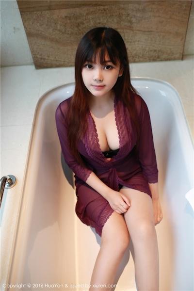 中国美少女モデル 小月儿(Xiaoyuer) セクシー画像 15