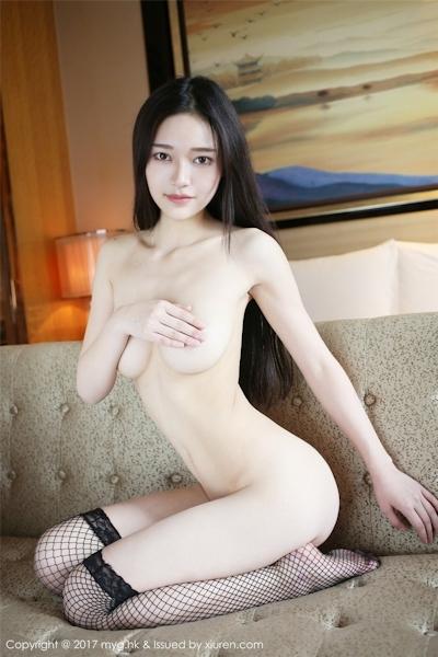 中国美女モデル 唐琪儿Beauty セクシーセミヌード画像 6
