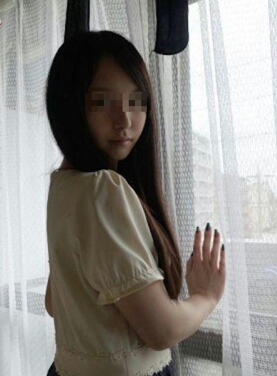 アジアン極上美少女の流出オナニー画像? 2