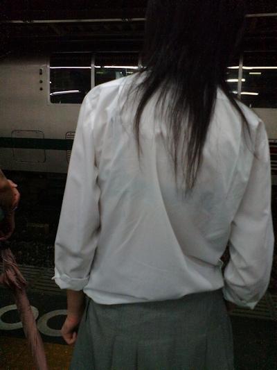 JKの透けブラ画像 3