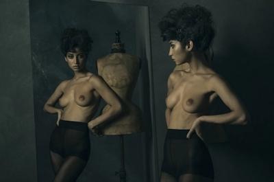 タヒチ出身の美女モデル Emilie Payet(エミリー・ぺイェ) セクシーヌード画像 9