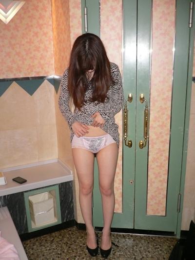 スレンダー美乳な日本の素人美女の流出ヌード画像 4