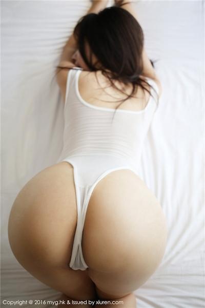中国美女モデル 芝芝Booty セクシーセミヌード画像 5