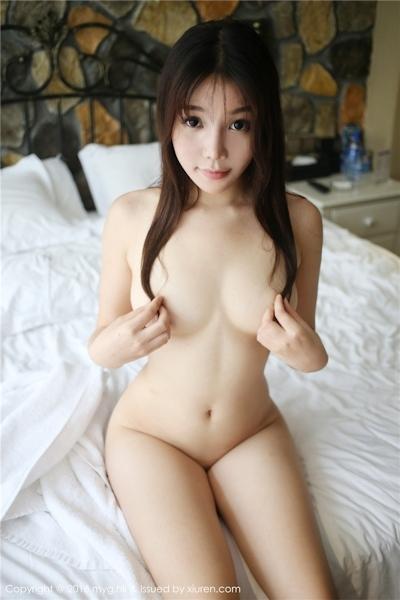 中国美女モデル 芝芝Booty セクシーセミヌード画像 11