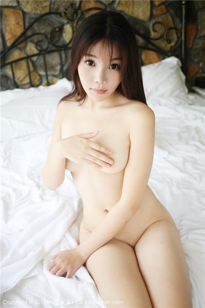 中国美女モデル 芝芝Booty セクシーセミヌード画像 12