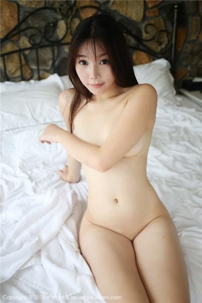 中国美女モデル 芝芝Booty セクシーセミヌード画像 13