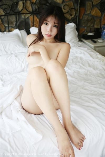 中国美女モデル 芝芝Booty セクシーセミヌード画像 14