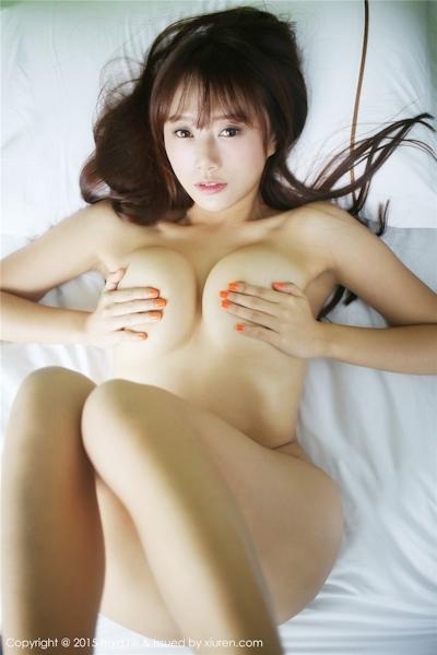 中国巨乳美女モデル 猩一(Xingyi) セクシーセミヌード画像 14