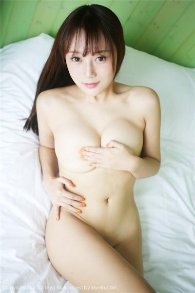 中国巨乳美女モデル 猩一(Xingyi) セクシーセミヌード画像 16