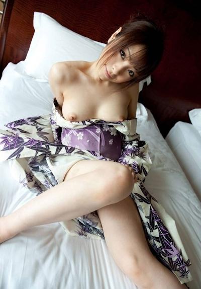 着物美女のヌード画像 8