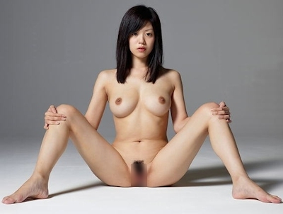 M字開脚ヌード画像 29