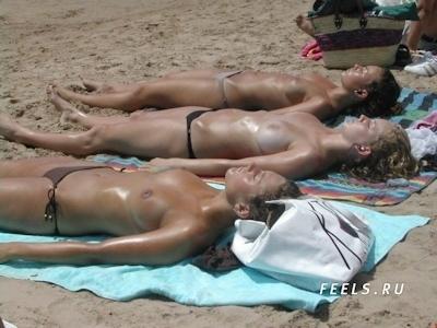 ロシアのヌーディストビーチのヌード画像 7