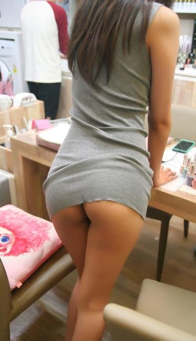 美乳なアジア女性の野外露出ヌード画像 9