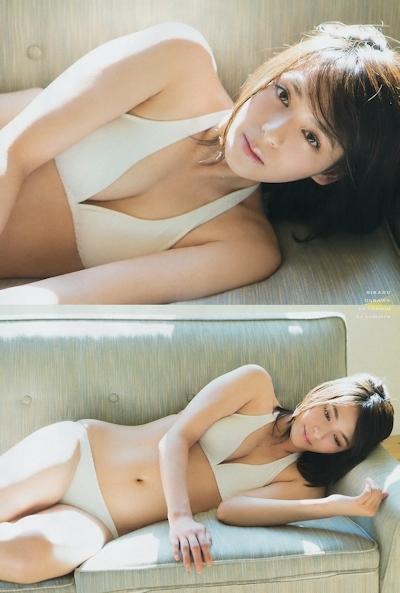 大沢ひかる セクシーグラビア画像 5