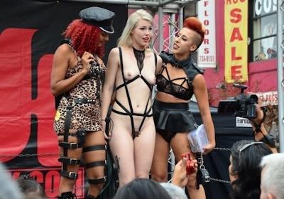 アメリカの野外SMショー 「Folsom Street Fair」 の画像 5