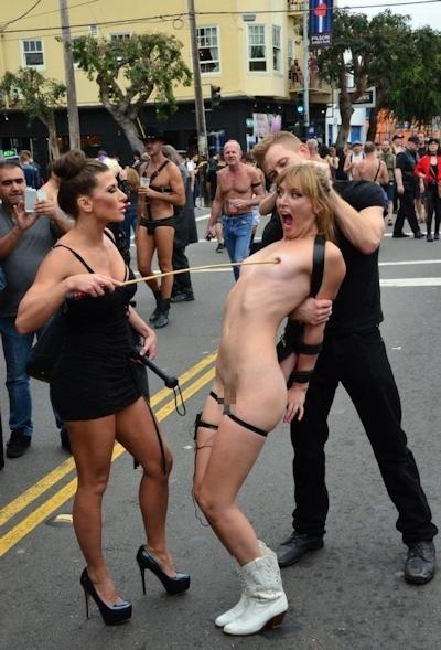 アメリカの野外SMショー 「Folsom Street Fair」 の画像 7