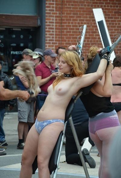 アメリカの野外SMショー 「Folsom Street Fair」 の画像 9
