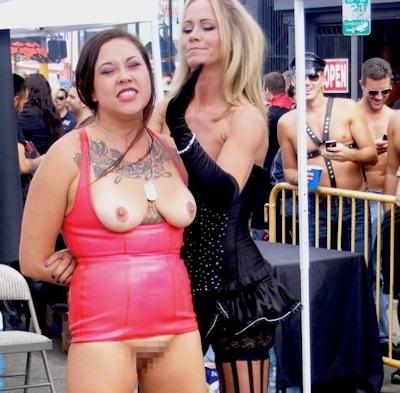 アメリカの野外SMショー 「Folsom Street Fair」 の画像 17