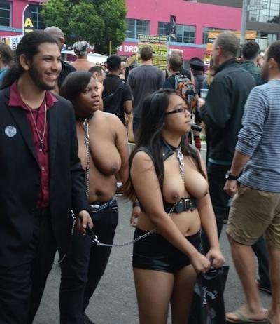 アメリカの野外SMショー 「Folsom Street Fair」 の画像 18