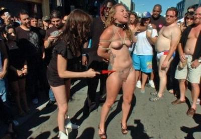 アメリカの野外SMショー 「Folsom Street Fair」 の画像 19